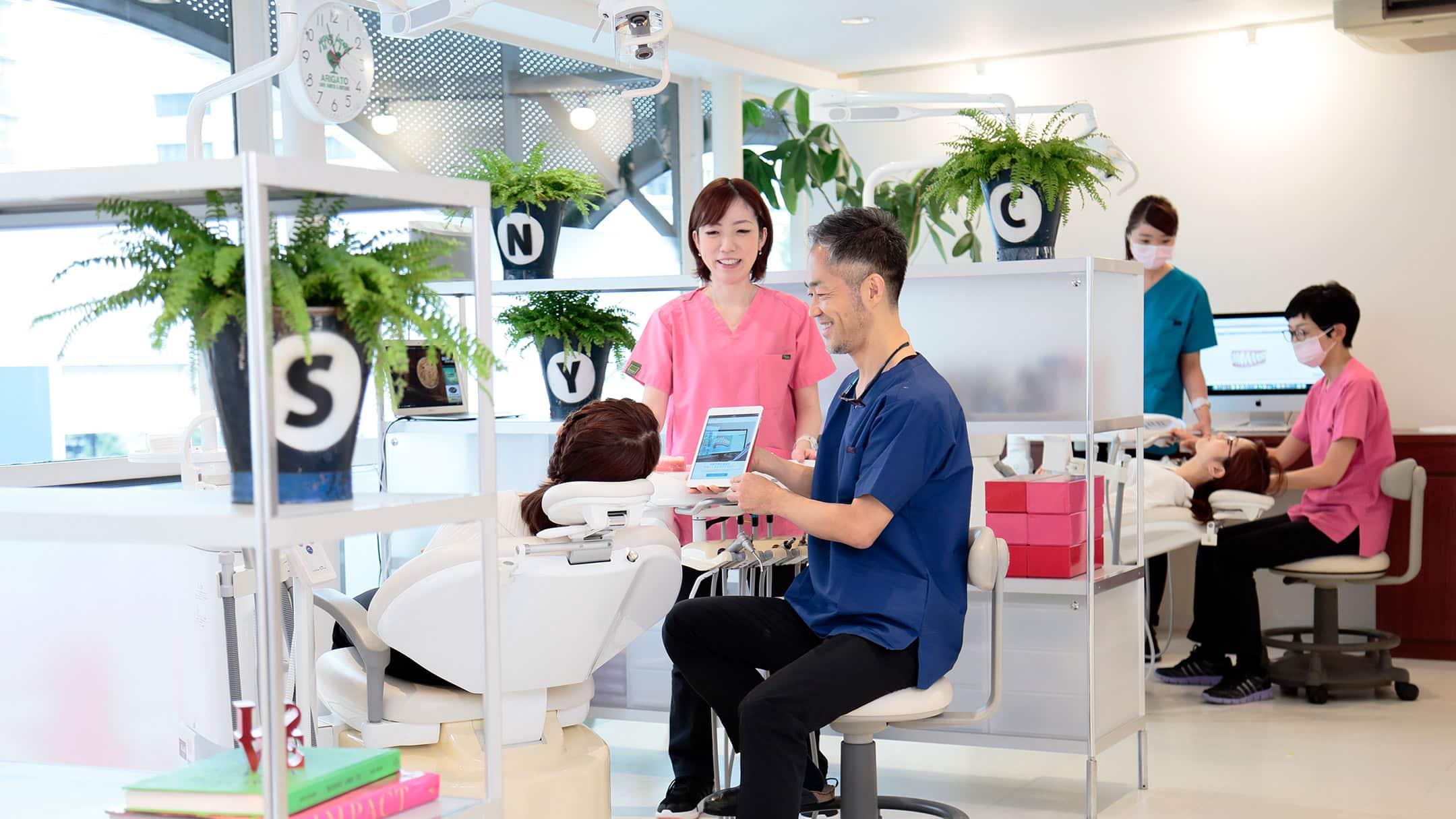 横浜の矯正歯科はSYNC横浜元町矯正歯科
